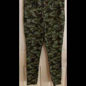 Old Navy RockStar Camo Skinny Jeans